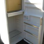 fridge, cleaned