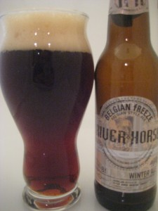 River Horse Belgian Freeze Ale