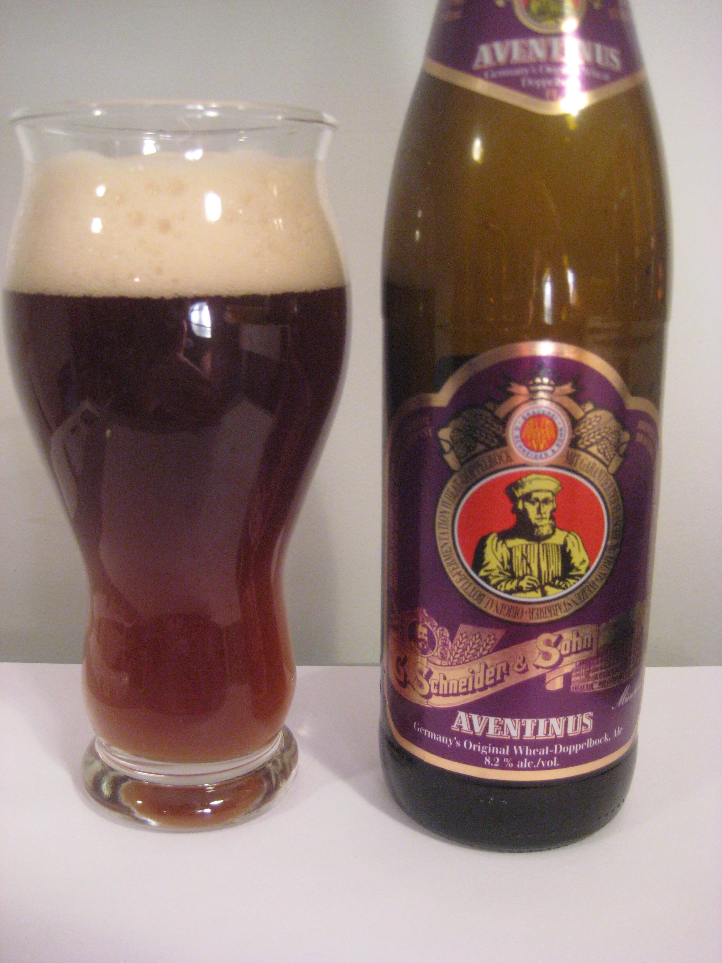 Schneider Weisse Tap 6 'Unser Aventinus' Weizenstarkbier- Wheat ...