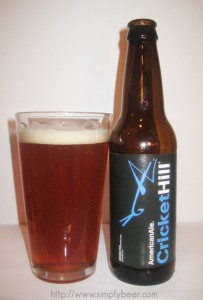 Cricket Hill American Ale