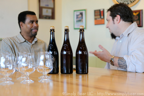 Interview with Garrett, Sampling Brooklyner Weisse, Wild 1, and Black Ops