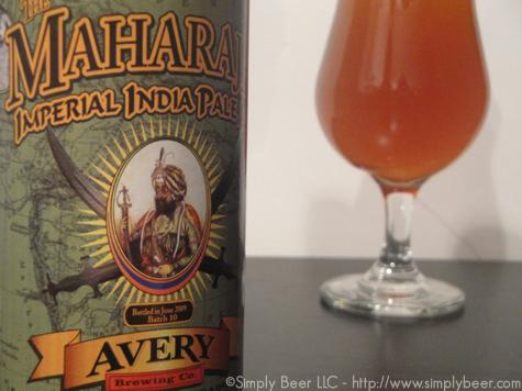 Avery The Maharaja Imperial IPA – Simplybeer