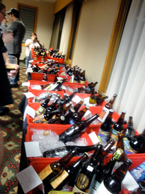 Beer Blogger Confrence Bring your own Bottle, massive selection