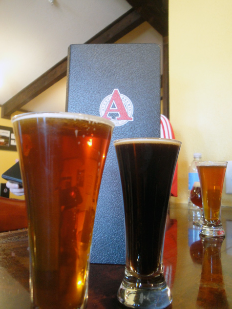Avery Brewing Co - Smoked Amber and Roggienbier