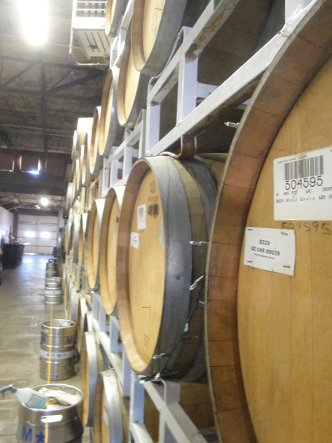 Avery Brewing Co - Barrel Room
