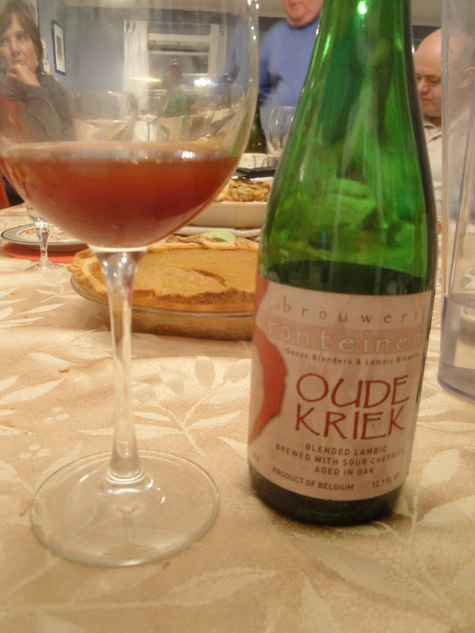thanksgiving 3 Fonteinen Oude Kriek