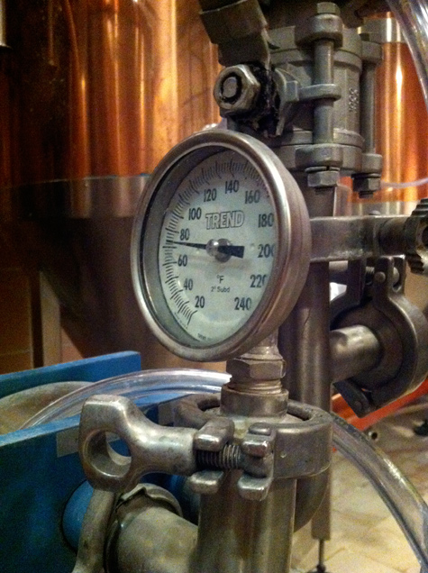 Cooling the Hot Wort