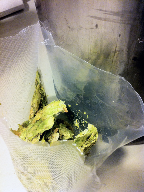1oz of Centennial Hops for Keg Dry Hop